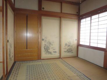 こんな部屋もあるよ。夫婦の寝室にいかが?