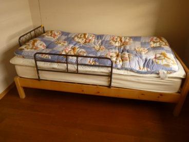 なんとベッドがもう一つ!