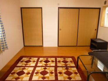 広々洋室です。