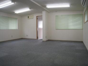 スケルトンの事務所。 いかが?