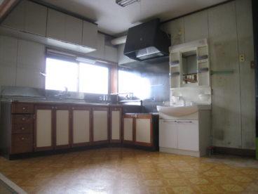 使いやすそうなキッチンです。