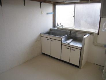 台所はこんな感じ。