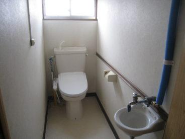 トイレはウォシュレット!