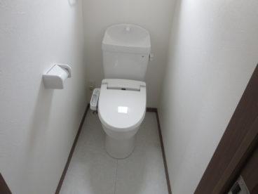 トイレはもちろん温水洗浄器付き ※画像は完成予想図です